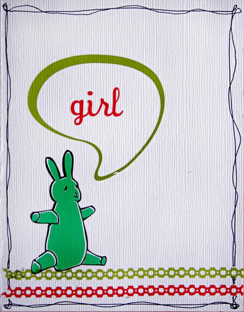 Girl-card