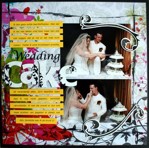 Wedding-cake