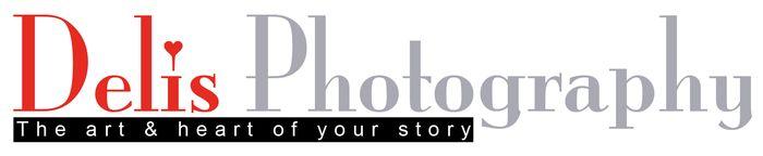 Logo delis photography rood